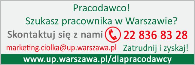 Up Warszawa Dla Pracodawców I Przedsiębiorców